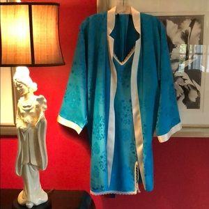 Shanghai Tang Kimono Robe & Nightgown Size M